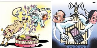 CBIની બલિહારી: રાજાને મહેલ અને લાલુને જેલ