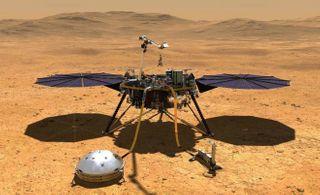 મંગળ પર હનુમાન કૂદકો: નાસાના રોબોટિક ઈનસાઈટ લેન્ડરનું ઉતરાણ