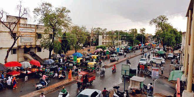 Patan district has 50% rainfall in the season