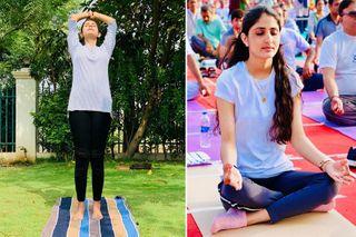International Yoga Day : જાણો ગુજરાતના કયા સેલિબ્રિટીઓએ યોગ દિવસની કરી ઉજવણી