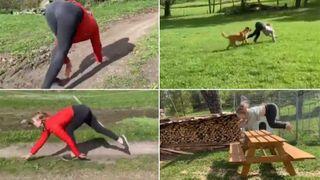 Video: આ મહિલા ઘોડાની જેમ ચાલે અને કૂદે છે, વીડિયો જોઈને દંગ રહી જશો