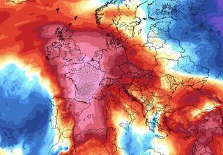 ફ્રાંસમાં પહેલીવાર ગરમીનો પારો 45.1 ડિગ્રીએ પહોંચ્યો