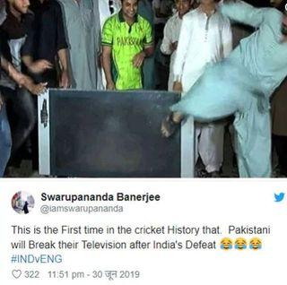 ભારતના પરાજય પર પાકિસ્તાન ફેન્સ લાલચોળ, કહ્યું - 'ભારત જાણી જોઈને હાર્યું'