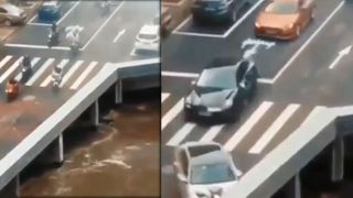 VIDEO : OMG ! એક એવો પુલ,જ્યાં વળાંક લેતા જ કાર પહોંચી જાય છે બીજી દુનિયામાં