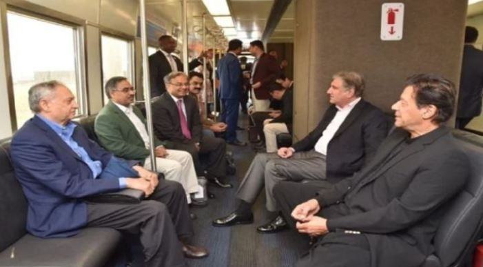 Us officer have not present to welcome imran khan