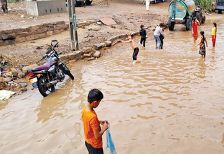 લિલિયા, કોટડાસાંગાણીમાં 3, વિસાવદરમાં 2.5 ઈંચ વરસાદ