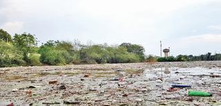 ધોરાજીમાં ધોધમાર વરસાદના પગલે કચરાનું પૂર આવ્યું