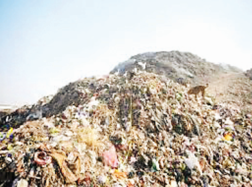 1.24 lakh metric tonnes of waste piles will be disposed in Sokhda