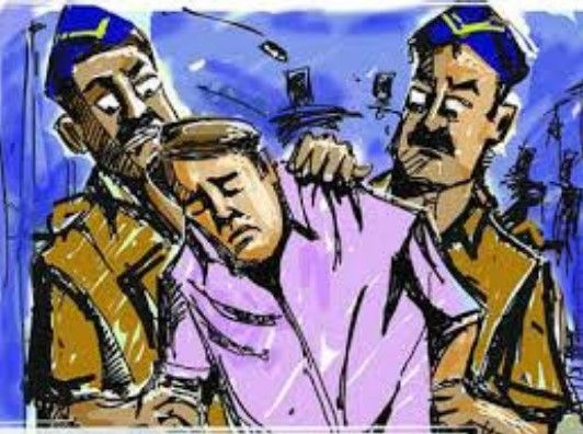 Two thief caught who cheated on a Manekpur's woman in Mansa taluka