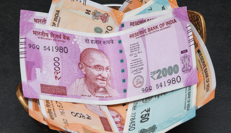 The rupee weakened for the fourth consecutive day