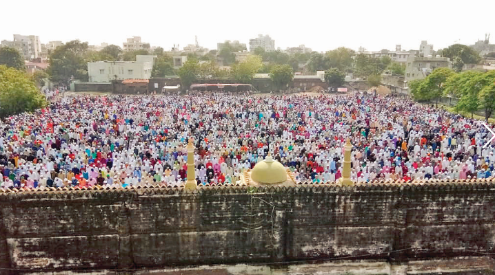Eid celebration in jamnagar