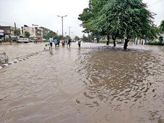 ઉત્તર ગુજરાતમાં સિઝનનો અત્યાર સુધી 56.56 %વરસાદ વરસ્યો