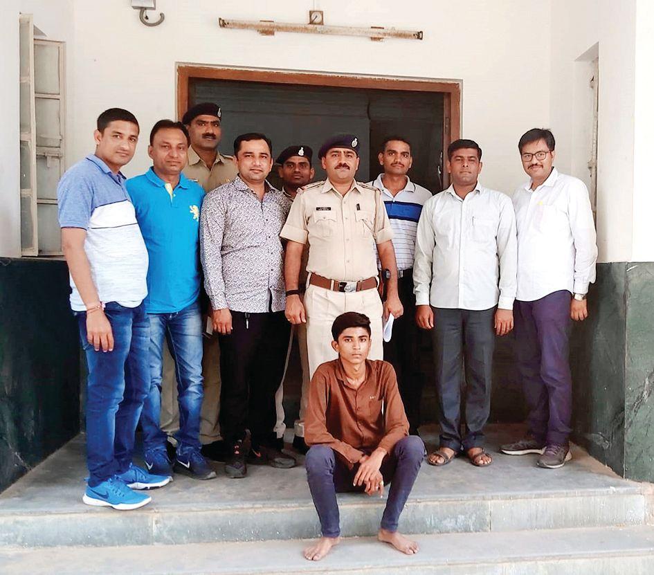 child kidnaper caught from Vijapur