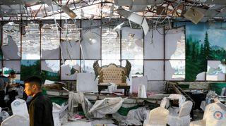 કાબુલમાં લગ્નના હોલમાં બ્લાસ્ટ થતા 63નાં મોત, 182 ઘાયલ