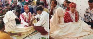 પાકિસ્તાનથી આવેલા બે યુગલના રાજકોટમાં કરાવાયાં લગ્ન