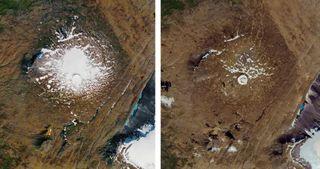 જળવાયુ પરિવર્તનને કારણે ગ્લેશિયર ઓકજોકુલ નષ્ટ, આઇસલેન્ડમાં શોક