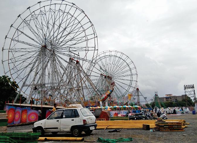 24x7 cleanliness at Malhar fair of rajkot