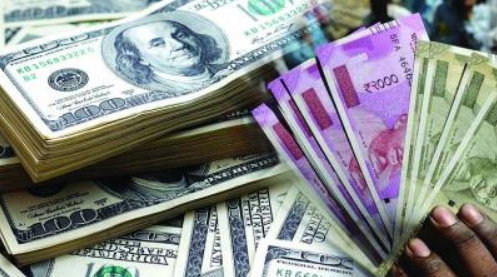 Rupee against the dollar six months lower of 71.43