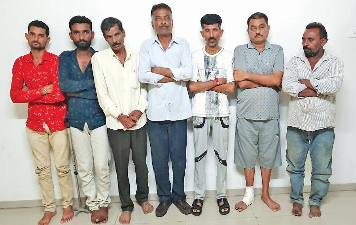 LCB of gondal caught 10 gamblers