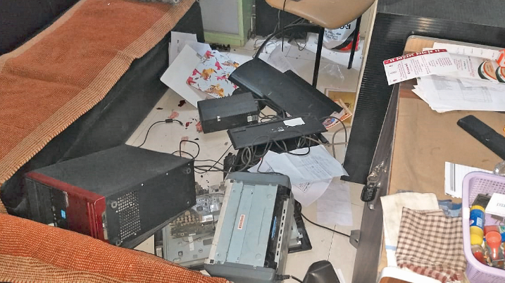 'Why Gambling News has Printed': chaos in Journalist's Home