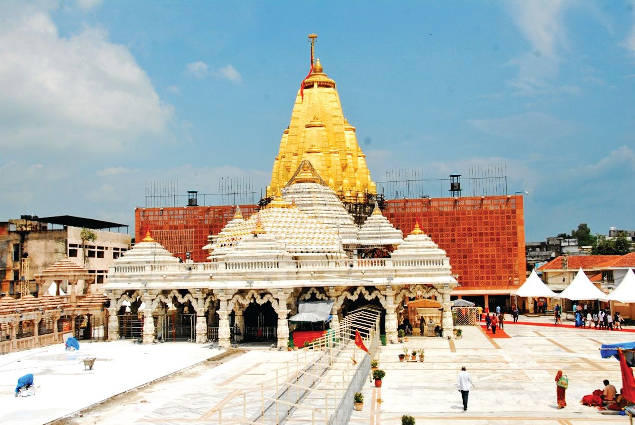 1.10 crore foreign currency in Ambaji in 3 years: Zero in two years