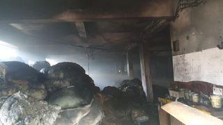 કોસંબા :પીપોદરા જી.આઇ.ડી.સીમાં આવેલ વેસ્ટ યાર્નની ફેક્ટરીમાં ભીષણ આગ