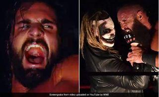 """VIDEO  : WWEમાં """"રાક્ષસ""""ને જોઈને Seth Rollins ની હાલત થઇ ખરાબ, ડરના માર્યે નીકળી ગઈ ચીસ"""