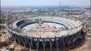 દુનિયાના સૌથી મોટા એવા મોટેરા ક્રિકેટ સ્ટેડિયમનું કામ 90% પૂર્ણ, આવતા વર્ષ સુધીમાં થશે તૈયાર