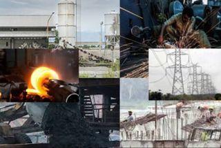 મંદીનોમાર: આઠ પાયાકીય ઉદ્યોગના વિકાસ દરમાં 0.5 ટકાનો ઘટાડો