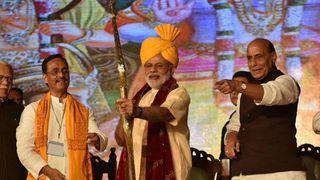 PM મોદી દિલ્હીના દ્વારકા ખાતે સેક્ટર-10માં આવેલા  DDA ગ્રાઉન્ડ ખાતે દશેરાની ઉજવણી કરશે