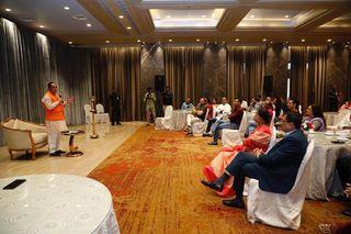 મુખ્યમંત્રી વિજય રૂપાણીએ  ગુજરાતી ફિલ્મ ઇન્ડસ્ટ્રીઝ અને રંગમંચના કલાકારો સાથે કરી સૌજન્ય મુલાકાત