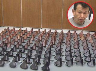 જાપાન : 61 વર્ષના વૃદ્ધે સીટ ચોરાવાનો બદલો લેવા માટે 159 સાઇકલ સીટની ચોરી કરી, CCTVમાં રેકોર્ડ દાખલ