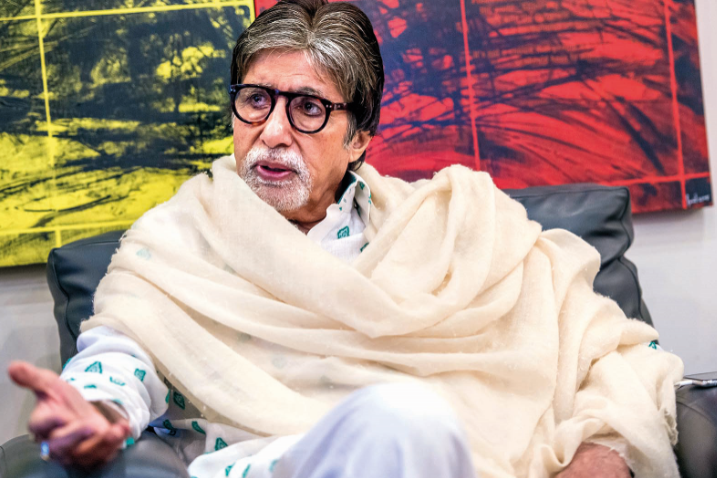 Big B finally broke the silence about his health