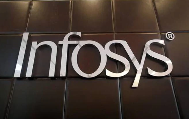 Infosys shares rose by 6%