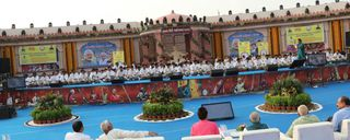 Three world records were set up at the Vadnagar Tannery Festival