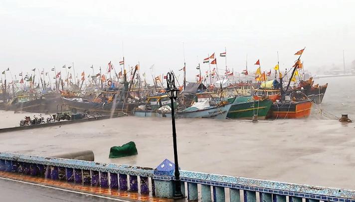Rain in Diu, Gir Somnath, Amreli and Bhavnagar districts