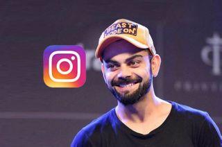 Instagram પર 5 કરોડ ફોલોઅર્સ સાથે વિરાટ કોહલી પહેલા ભારતીય બન્યા