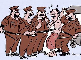 ટહેલવા નીકળેલા લોકોને પોલીસના 'કાયદાના દંડા' પડ્યા