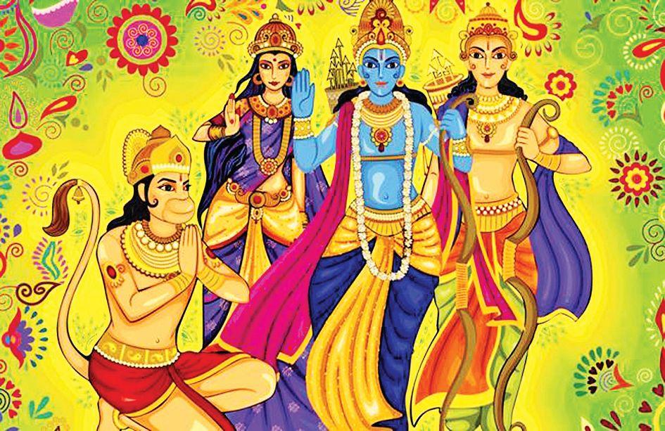 Today Ramanavami, Chaitri Navaratri finish in honor of Lord Swaminarayan
