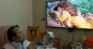 'રામાયણ'માં સીતાનું અપહરણ જોઈને ભાવુક થયા 'રાવણ'