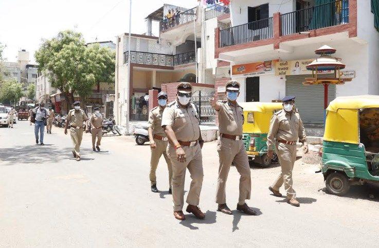 police visits gopalnagar