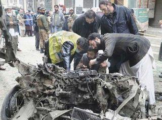 પાકિસ્તાનના પેશાવર શહેરમાં IED બ્લાસ્ટમાં 5 લોકોને ઈજા
