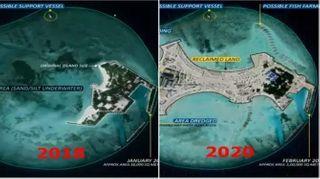ભારતથી 684 કિમી દૂર હિંદ મહાસાગરમાં કૃત્રિમ દ્રીપ બનાવી રહ્યું છે ચીન, સેટેલાઇટ ઇમેજથી ખુલાસો થયો
