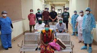 પાટણમાં કોરોનાગ્રસ્ત વધુ ત્રણ દર્દીઓ સ્વસ્થ બનતાં રજા અપાઈ