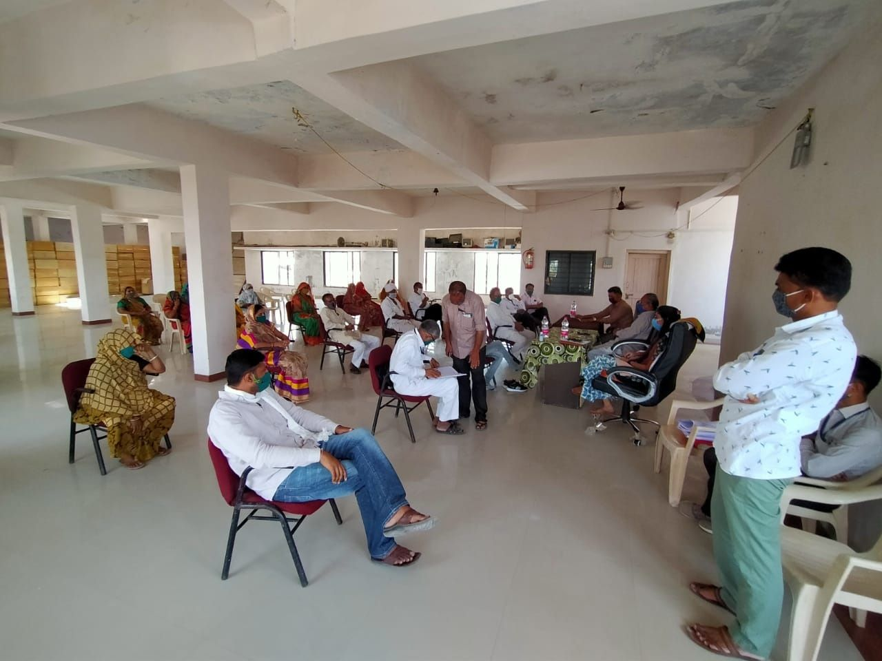 Development works were organized in the general meeting of Tharad Municipality