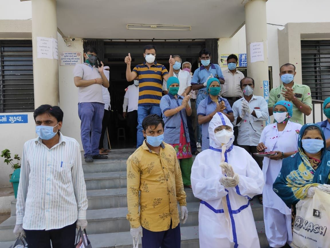 8 more corona infections in the district including 5 in Mehsana city