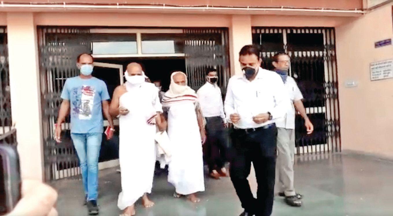 Release of two Jain monks of Idar Pavapuri Jal Mandir on conditional bail