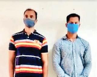 31 કિલો ગાંજા સાથે બે પકડાયા: ગોમતીપુરના બે શખ્સ સુરતથી રિક્ષામાં 15 પેકેટ લાવ્યા હતા