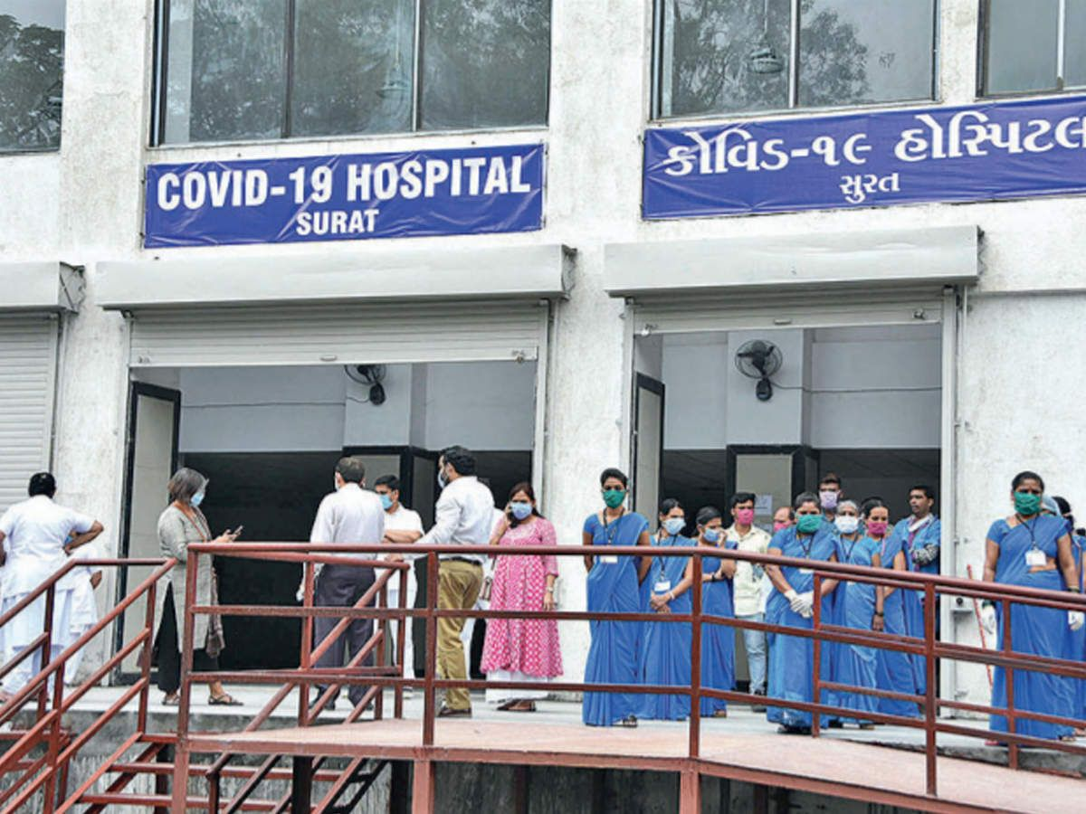 Concerned over the increasing transition of corona in Surat, the President of Gujarat Pradesh Congress Committee visited the Covid ward of New Civil and Smimer