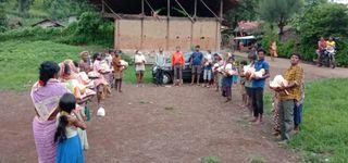 ડાંગના ગામડાઓમાં બારડોલીના દિવાળીબેન ટ્રસ્ટની સેવા પ્રવૃત્તિ